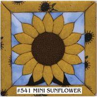 Mini Sunflower Quilt Magic Kit