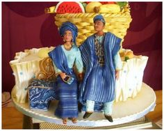 nigerian engagement   Nigerian Traditional Wedding Cakes