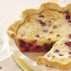 Sour Cream Cherry Pie Recipe