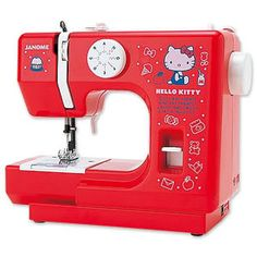 #Hello kitty #janome #sewing machine