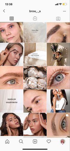 Instagram Feed Ideas Posts, Feeds Instagram, Instagram Story Ideas, Instagram Tips, Perfect Eyebrows Tutorial, Beauty Bar Salon, Instagram Eyebrows, Brow Studio, Brow Artist