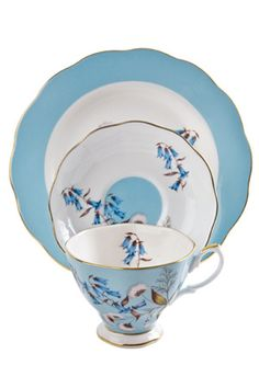 Royal Albert fine china - a must have in any Southern Belle's Home....usually all 12 place settings