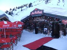 Chatel, lovely place to warm up after skiing