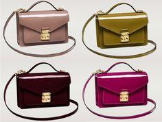 Beg For Bag! Designer Luxury Handbags  Fashion Style Trends Louis Vuitton Monceau BB Vernis