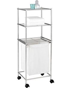 Organize It All Neu Home Metro 3-Tier Laundry Cart from Casa | BHG.com Shop