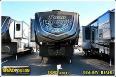 """2015 New Heartland ROAD WARRIOR 355RW Toy Hauler in California CA.Recreational Vehicle, rv, 2015 HEARTLAND ROAD WARRIOR 355RW, Specifications Gross Vehicle Weight Rating: 18,000 lbs Hitch Weight: 3,000 lbs Width: 8'5"""" Length: 39'3"""" Sleeping Capacity: 7+ People Tires: ST235/85R16 LR G Fresh Tank: 100 gal Black Tank: 69 gal Furnace: 35,000 btu LP Capacity: (2) 30 lbs 110V Electric: 50 AMP R-Value Wall: R-8 R-Value Roof: R-23 Number of Slides: 2 Slide Room Height: 7'6"""" Awning Length: 18' & 10'…"""