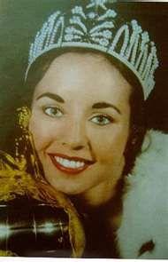 Carol Morris Miss Universe 1956 from U.S.A.
