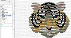 Seed Bead Patterns, Peyote Patterns, Beading Patterns, Cross Stitch Patterns, Peyote Beading, Beaded Animals, Tear, Beaded Ornaments, Seed Bead Jewelry