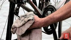 Learn how to clean and lubricate a bicycle chain quickly and thoroughly. | Great advice for a happy bike!