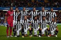 La foto oficial del equipo italiano, la Juventus.