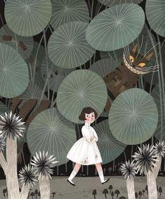 alice in wonderland julia sarda Art And Illustration, Illustrations And Posters, Character Illustration, Arte Floral, Grafik Design, Cute Art, Artwork, Concept Art, Art Drawings