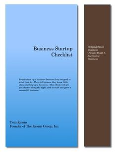 Business Startup Checklist And Planning Guide By Stephanie