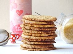 Τραγανά μπισκότα με βρώμη