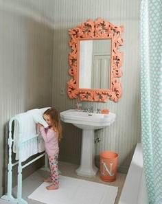#Orange #Mirror  Get the Look at I.O. METRO... http://www.iometro.com/lighting-mirrors/mirrors/piper-mirror-orange