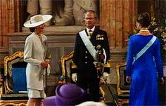 quatre1six:  Crown Princess Victoria's declaration of majority in the Hall of State at the Royal Palace of Stockholm on her 18th birthday, 14 July 1995. [x]