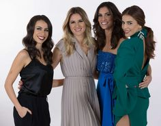 Portugal's 2018 presenters are Filomena Cautela, Sílvia Alberto, Catarina Furtado and Daniela Ruah. They all showcase drop dangle earrings, from oversized and statement to dainty and more refined.....