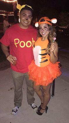 Tigger & Winnie Puuh   Kostüm-Idee für Paare zu Karneval, Halloween & Fasching