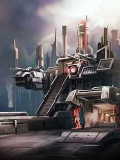 Autobot Metroplex Artwork From Transformers Legends Game