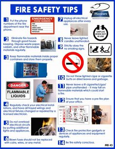 14 Fire safety tips