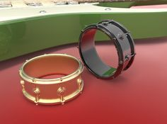 Snare Drum Ring - Size 11-1/2 by dtistudio
