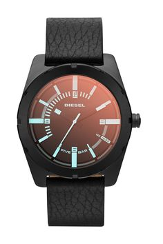 Men's Good Company Leather Strap Watch by Diesel on @nordstrom_rack