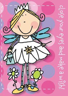 Fairy Birthday Illustration