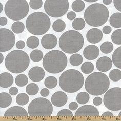 grey polka dots