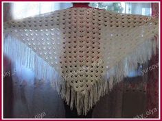 Pattern for shawl crochet Mother's Day Projects, Crochet Videos, Crochet Shawl, Elsa, Knitting, Pattern, Youtube, Capes, Stitches