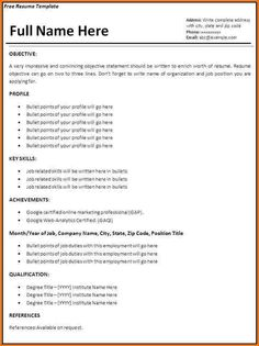 cfo cover letter Example Of Simple Resume Format. Cover Letter Sample For Job . Resume Format Examples, Simple Resume Format, Job Resume Format, Professional Resume Examples, Basic Resume, Good Resume Examples, Resume Cv, Resume Tips, Resume Work