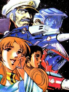 Crew of the Anime Mech, Macross Anime, Comic Anime, Anime Manga, Anime Art, Macross Valkyrie, Robotech Macross, Robot Cartoon, Good Anime Series