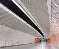 Subway Tunnel Vienna, by Subway Tile Colors, Underground Cities, U Bahn, Metro Station, Design Reference, Exterior Design, How To Look Better, Photoshoot, Band