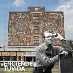 Juan o Gorman se convirtió en un arquitecto destacado bajo la influencia de Le Corbusier y ayudó a introducir a México la arquitectura funcionalista. #arquitectura #iluminacion #UNAM #arquitecto