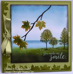 Autumn's First Signs – Stampin' Up! Card