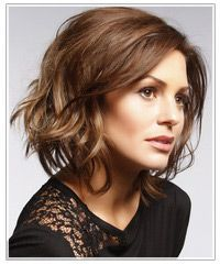 Wash and Wear Hairstyles Cut | Short Hairstyle For Wavy Hair : Hairstyles | TheHairStyler.com
