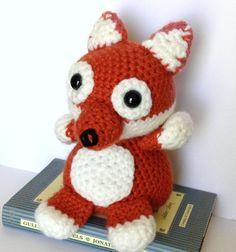 Free Crochet Fox Pattern: What Does the Fox Say? Amigurumi!