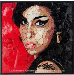 Portrait of Amy Winehouse ~ Winner of the competition MYTAward2016  By Ilaria Del Signore