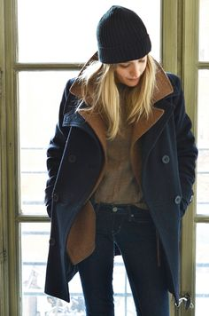 alternative to layering a hoodie under a coat