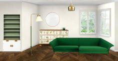 Eva Klíčová showroom at Neybers Showroom, Couch, Interior Design, Furniture, Home Decor, Nest Design, Settee, Decoration Home, Sofa