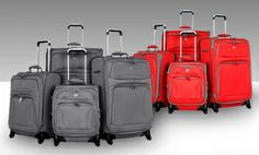 Groupon - Honolulu 4-Piece Luggage Spinner Set. Multiple Colors Available. Free Returns. in Online Deal. Groupon deal price: $159.99