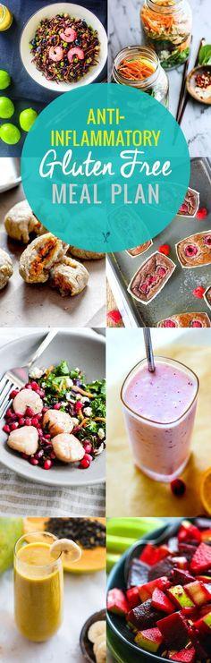 Anti-inflammatory Gluten Free Meal Plan Recipes
