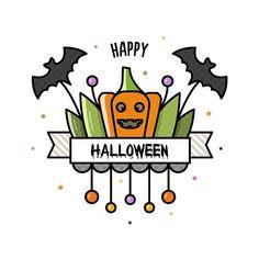 "274 Likes, 2 Comments - Valeria  Estonia ✌ RU (@blackberryjelly) on Instagram: ""19/365 #pumpkin for #doodleadayoct #drawing #draweveryday #illustration #halloween #bat #art…"""