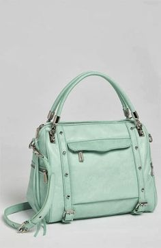 I love Rebecca Minkoff. So many cute styles and colors.  Perfect spring purse. I want them all