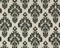 """Wedding table runner fabric. Avery Linen/Black by Premier $11.75 sale $9.00. 6""""height 8 """"width repeat.Also comes in white vs linen background color."""
