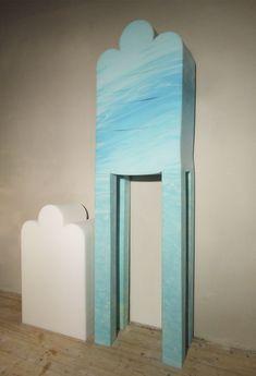meubles en caoutchouc mousse armoire haute   Meubles en caoutchouc mousse   photo mousse meuble image étagère Dewi van de Klomp design caout...
