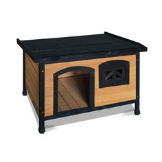 Medium Pet Dog Kennel - Black A man's best friend deserves a good place to stay. And our Pet Dog Kennel is the just the right pad for your furry buddy to sleep, rest or relax. This quality Fir woo.