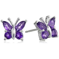 butterfly stud earrings gifts for girls
