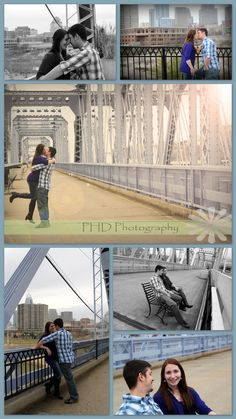 Downtown Cincinnati Engagement Session PHD Photography