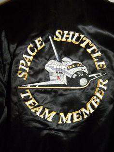 1980s 80s Jacket / Vintage / SPACE SHUTTLE by JewvenchyVintageshop