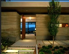 Aidlin Darling | Caretakers Residence | built of Rammed Earth