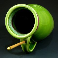 green pottery...my favorite